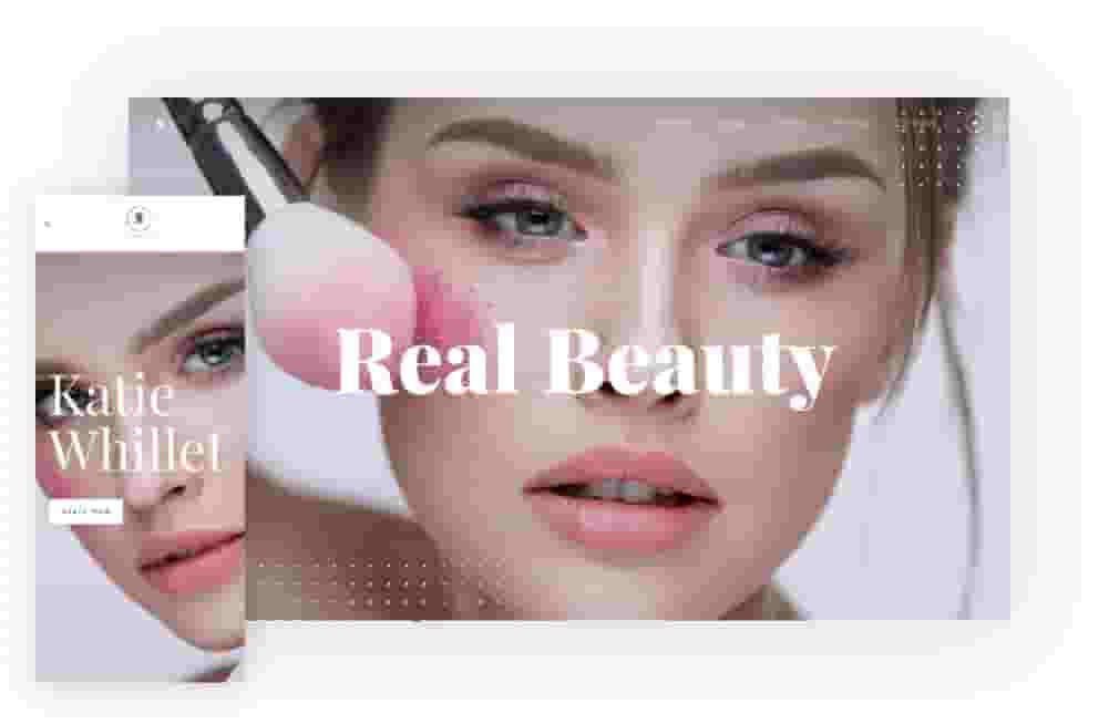 Real Beauty website template