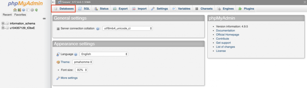 Database baru