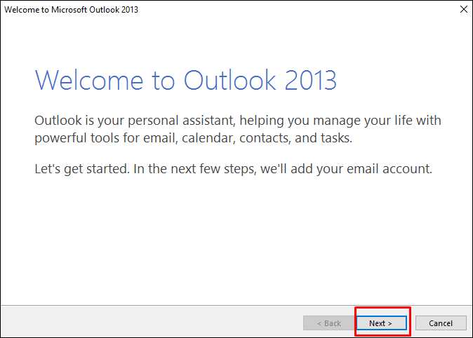 mail in outlook4 1