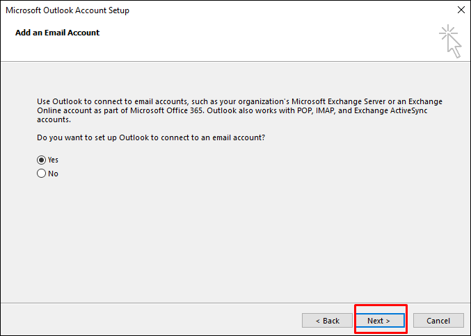 mail in outlook5