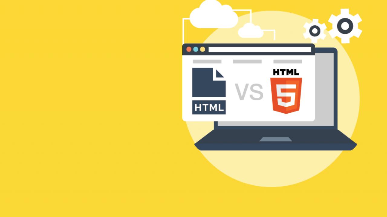 Perbedaan HTML dan HTML5