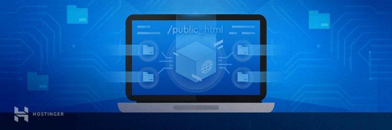 Langkah 4: Pastikan semua file tersimpan di public_html