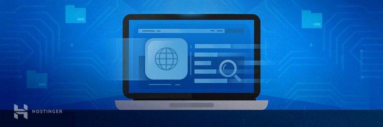 Langkah 6: Mengecek apakah website berhasil online atau tidak