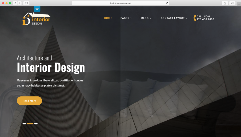 tema wordpress interior lite