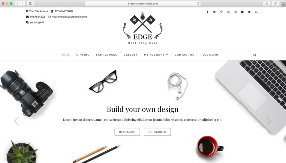 tema wordpress gratis edge