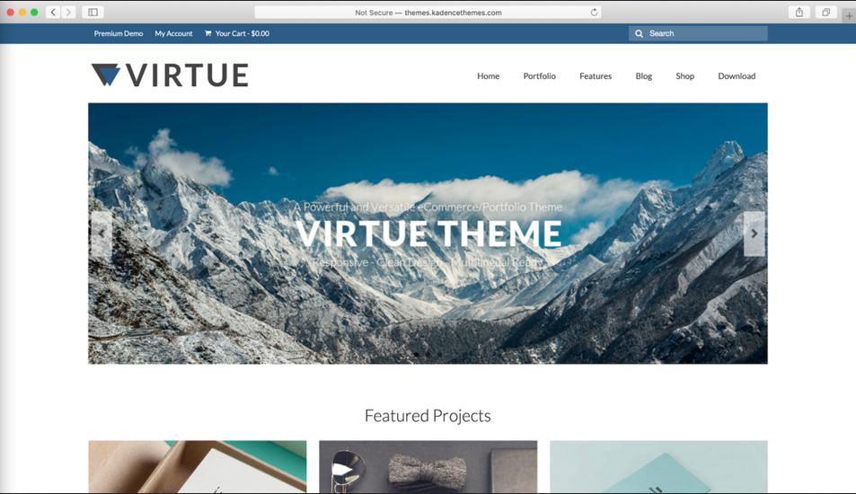 tema wordpress gratis virtue