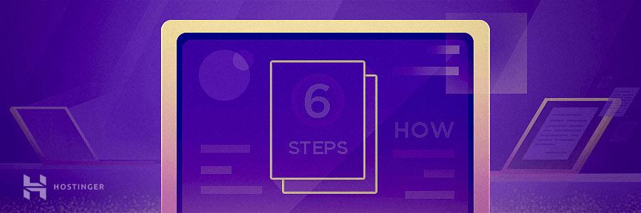 Cara membuat blog dengan 6 langkah mudah