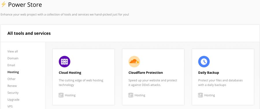 Module CloudFlare Hostinger