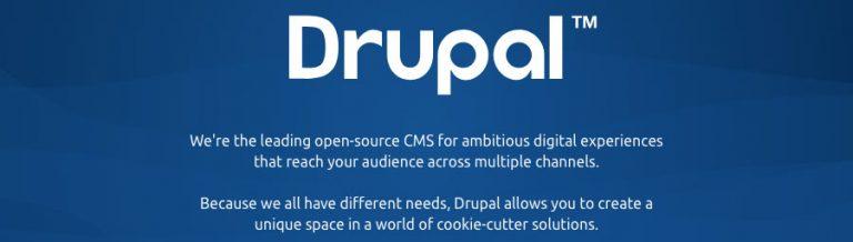 Pengenalan CMS Drupal