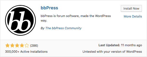 Plugin bbPress WordPress