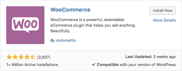 Plugin WooCommerce WP