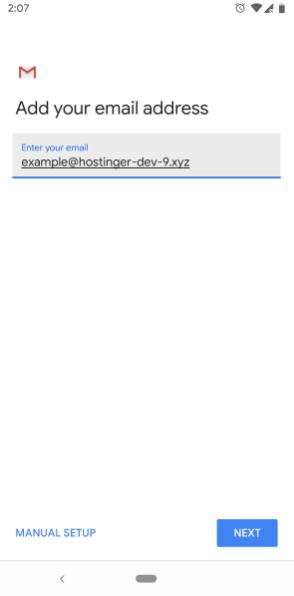 Tambah alamat email