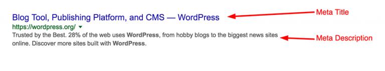 Meta Description dan Meta Title di Hasil Pencarian Google