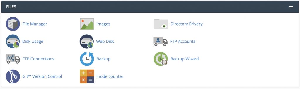Apa itu cPanel - tool File Manager