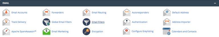 Fitur manajemen email cPanel