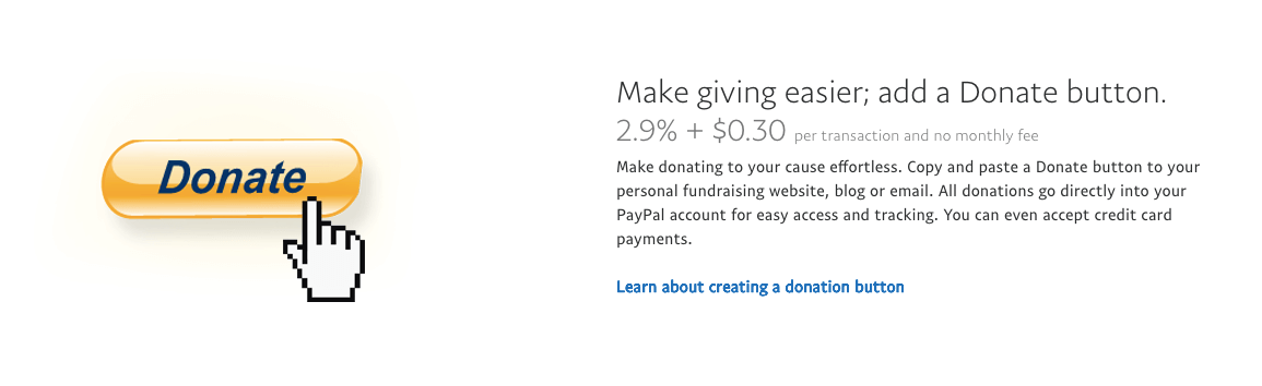 Panduan cara membuat tombol donasi PayPal