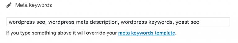 Cara Memasukkan Keyword di WordPress