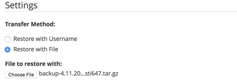 Pemulihan file lokal