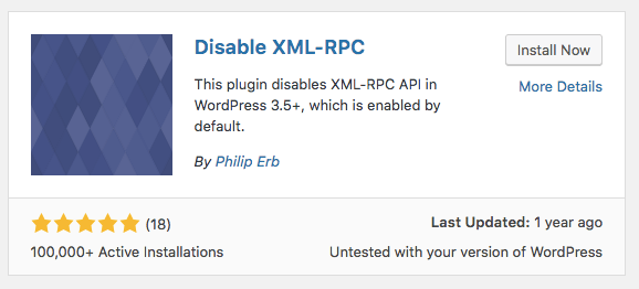 Plugin Xmlrpcp