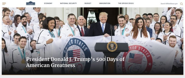 White House membuat website resminya di WordPress