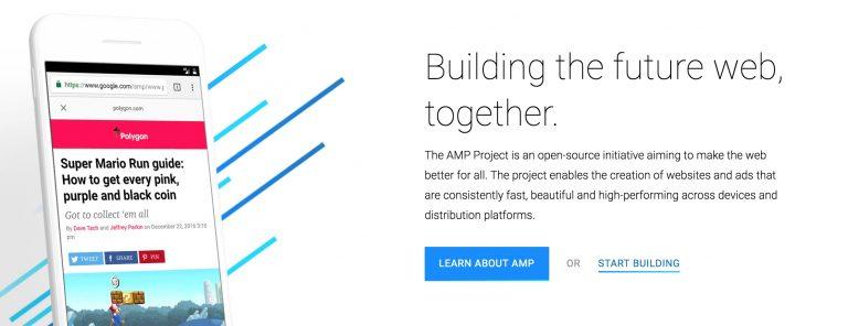 Beranda Utama Google AMP WordPress