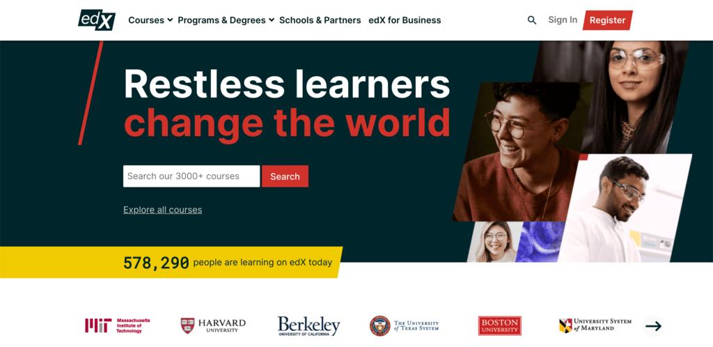 edX computer science courses untuk latihan coding