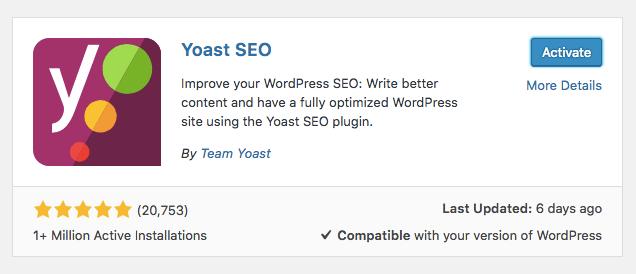 Cara Seo WordPress - Menginstall Yoast SEO