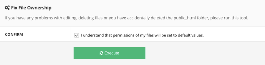 Memperbaiki permission pada file dan direktori