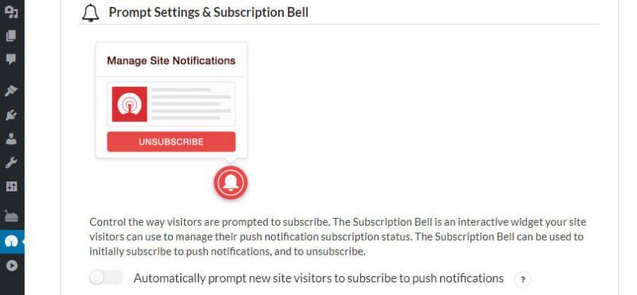 Push Notification untuk pengguna baru