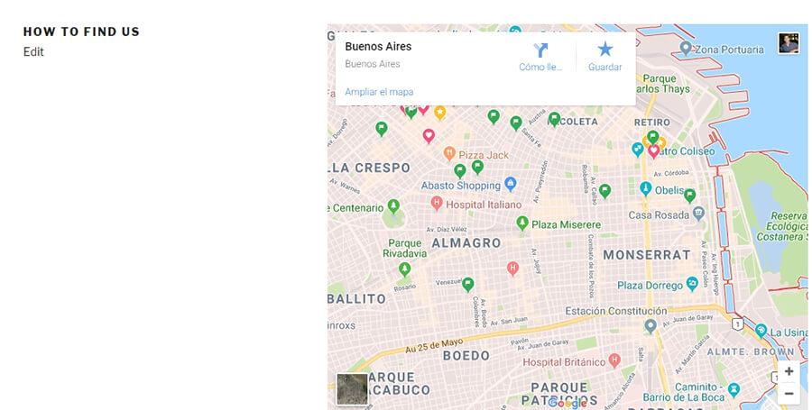 Contoh map