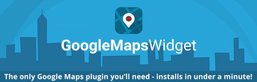 Menambahkan Google Map pada website dengan plugin Google Maps Widget