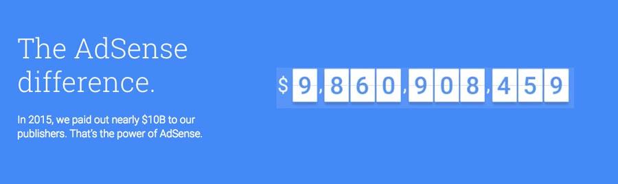 Mencari uang online dengan menyediakan ruang periklanan