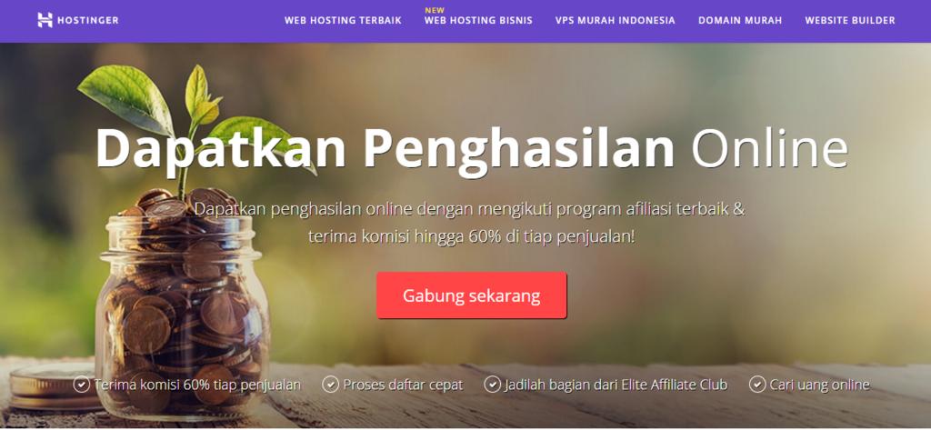 Cara menghasilkan uang dari internet dengan membuat website afiliasi