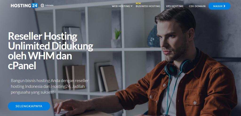 Cara mendapatkan penghasilan dari internet dengan menjadi reseller web hosting