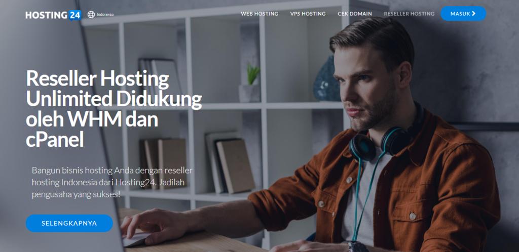 Cara mencari uang di internet dengan menjadi reseller hosting
