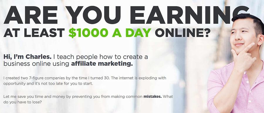 Salah satu ide bisnis, blog afiliasi