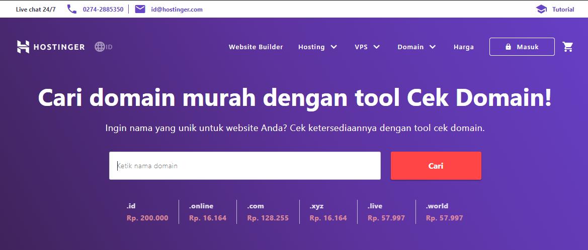 Check cheap domains