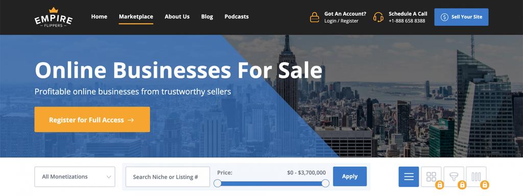 Memperoleh penghasilan dari internet dengan jual website