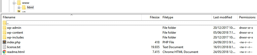 Folder root