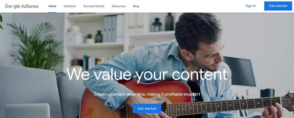 Cara mendapatkan uang dari internet dengan google adsense