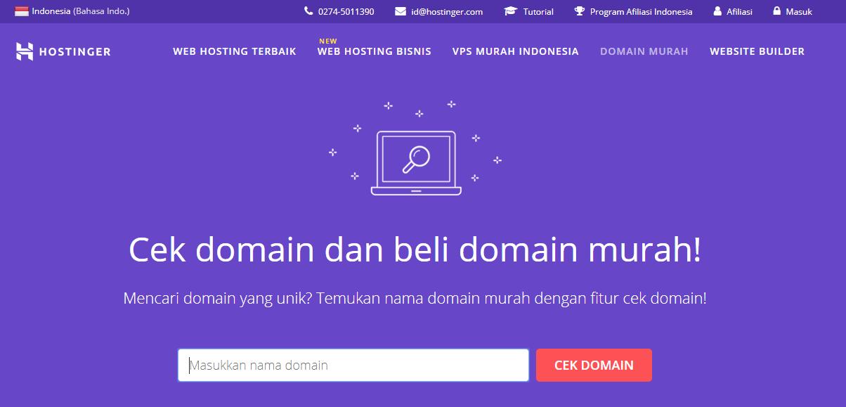 Mendapatkan uang online dengan memperjualbelikan nama domain