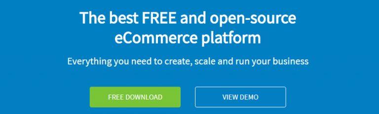 CMS online shop - OpenCart
