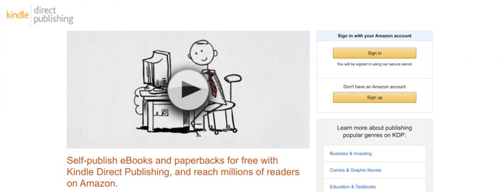Cara mencari uang di internet dengan menerbitkan buku digital