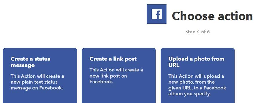 Opsi Create Link Post