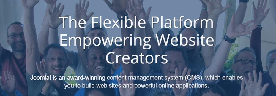 Blogging platform Joomla!