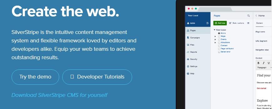 Platform blog SilverStripe