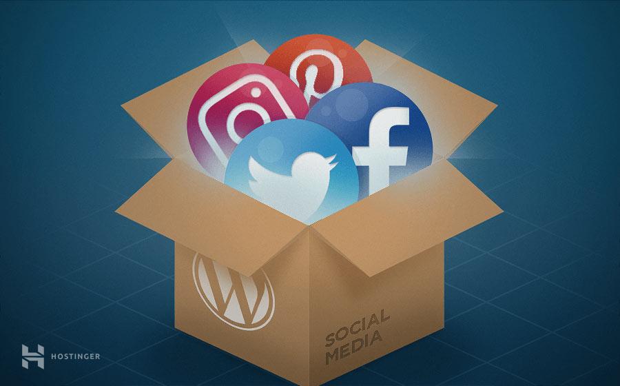3 Cara Menambahkan Ikon Sosial Media di WordPress