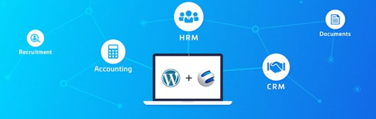 WordPress CRM plugin, WP ERP