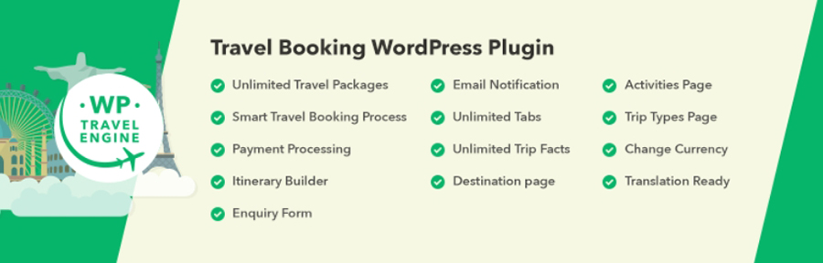 Plugin WP Travel Engine
