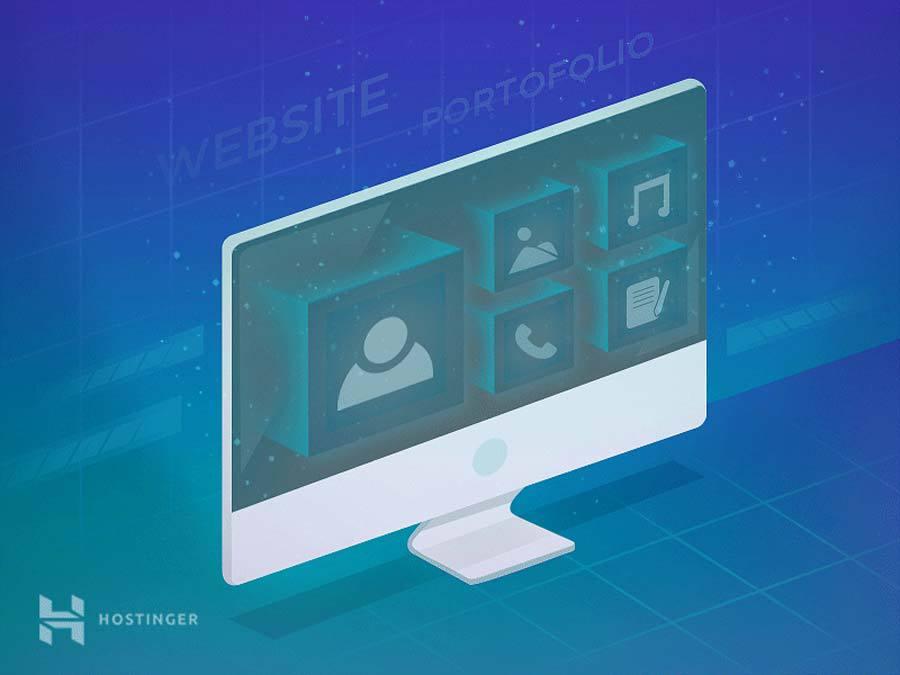 Contoh Portofolio Web Developer